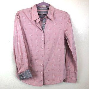 Robert Graham Pink Button Down Shirt